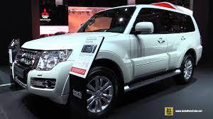 mitsubishi galant 2015 interior 2016 mitsubishi pajero exterior and interior walkaround 2015