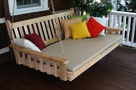 porch swing bed hammock outdoor mattress cover cushions 36548