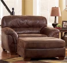 Chair With Matching Ottoman Chair Bassett Leather Chair And A Half Tufted Leather Chair And