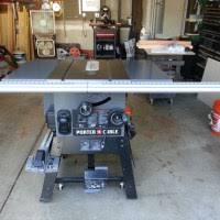 porter cable table saw review review porter cable table saw model pcb270ts the workbench