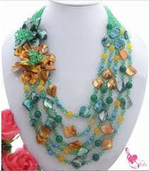 color crystal necklace images Multi color crystal necklace jpg