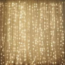 curtain backdrop lights decorate the house with beautiful curtains