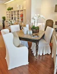 Skirted Dining Chair Custom Wingback Parsons Chair With Skirt Dining Chairs Kitchen