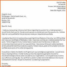 certified nursing assistant cover letter examples nursing