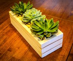 succulent planter succulent planter from pallets 15 steps with pictures