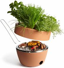 the best grill for your balcony your bbq and herb garden in one
