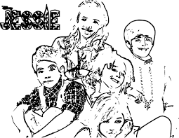 channel jessie printable coloring pages