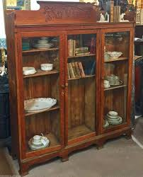 antique hutch with glass doors baileywyck antiques attic
