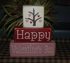 s day home decor s day blocks happy s day heart tree