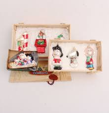 seven kurt adler polonaise peanuts handblown ornaments