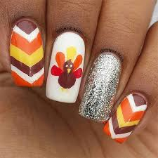18 easy thanksgiving nail designs ideas stickers