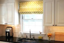 Kitchen Windows Decorating Above Window Decor Large Size Of Window Kitchen Window Treatments