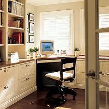 Small Desk Brown White Wooden Shelves Over White Wooden Desk With Brown Wooden Top