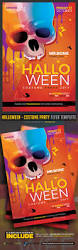 halloween costume party flyer template by prassiod graphicriver