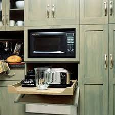 Microwave Inside Cabinet Dream Kitchen Must Haves Appliance Garage Installing Electrical