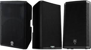 best speakers the best powered pa speakers up to 1 500 gearank
