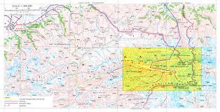 Bishkek Map To The Icy Giants Of Central Tien Shan Trekking