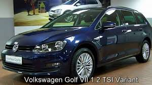 volkswagen golf blue volkswagen golf vii variant 1 2 tsicup fp578862 night blue
