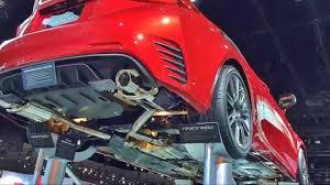 lexus richmond parts rc f sport parts debut at la auto show youtube