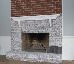 White Washed Stone Fireplace Life by Talk Me Out Of Painting My Fireplace