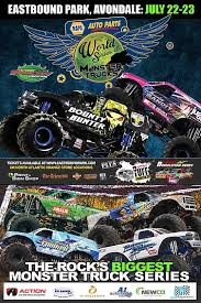 napa monster truck racing freestyle series
