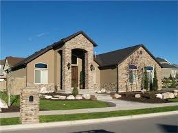 one story luxury homes spices texas style homes and house plans