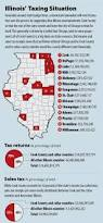 Counties In Illinois Map by Most Of Illinois Tax Money Comes From Chicago Metro Region