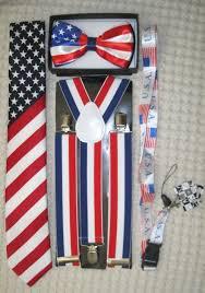 American Flag Suspenders Suspenders Braces