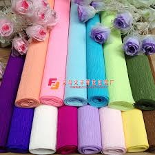 where can i buy crepe paper 250x50cm 50 roll diy flower crepe papers wrapping flowers