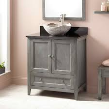 34 Inch Vanity 34 Inch Bathroom Vanity With Decoration Wall Shelf Also Small