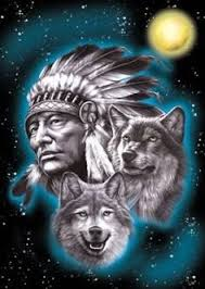 indian and wolf search the ethnic artist