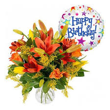 birthday boquet simply birthday wishes bouquet flowers expo florist of riverside