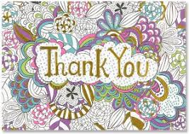 color me thank you note cards stationery thank you note cards