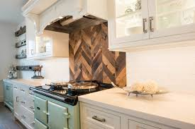wood backsplash kitchen white inset cabinet wood backsplash waterview kitchens
