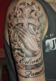 55 amazing christian shoulder tattoos