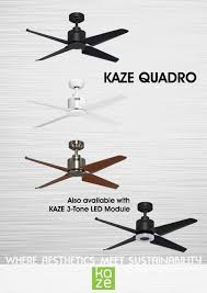 Helicopter Ceiling Fan For Sale by Kaze Quadro 48