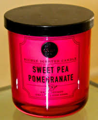 dw home candle sweet pea pomegranate new 1 wick 33 hours dw4131