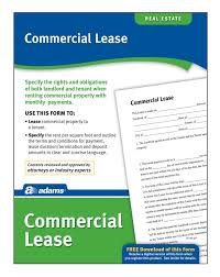free california commercial lease agreement template pdf word forms