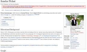resume template for experienced engineers week wikipedia indonesia sundar pichai is now google ceo but wikipedia is fighting over