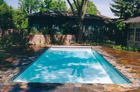Deep Backyard Pool by How Much Is Blue Hawaiian Rectangle 7 Plus Feet Deep Fiberglass Pool