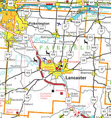 map of counties in ohio pages county map
