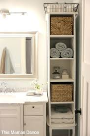 Towel Bathroom Storage Bathroom Storage Ideas Pinterest Pretty Inspiration Ideas Small