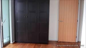 ikea closet bedroom winsome ikea pax ilseng black brown sliding door