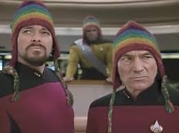 Star Trek Picard Meme - which episode of star trek tng is the image on the chat servers