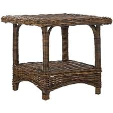 Rattan Accent Table Wicker Living Room Furniture Shop The Best Deals For Dec 2017