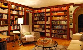 home library design hd wallpaper brucall com