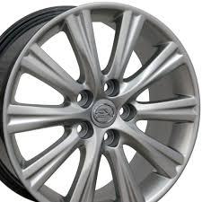 lexus wheels on rav4 lexus es 350 style replica wheel hyper silver 17x7