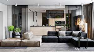 Design Inspiration For Home by Sleek Open Plan Interior Design Inspiration For Your Home