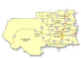 Map Alberta Canada by Government Of Alberta Ministry Of Transportation Red Deer