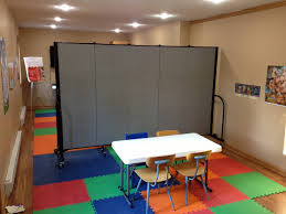 Wall Partition Ideas by Ideas For Using Portable Church Room Dividers Screenflex